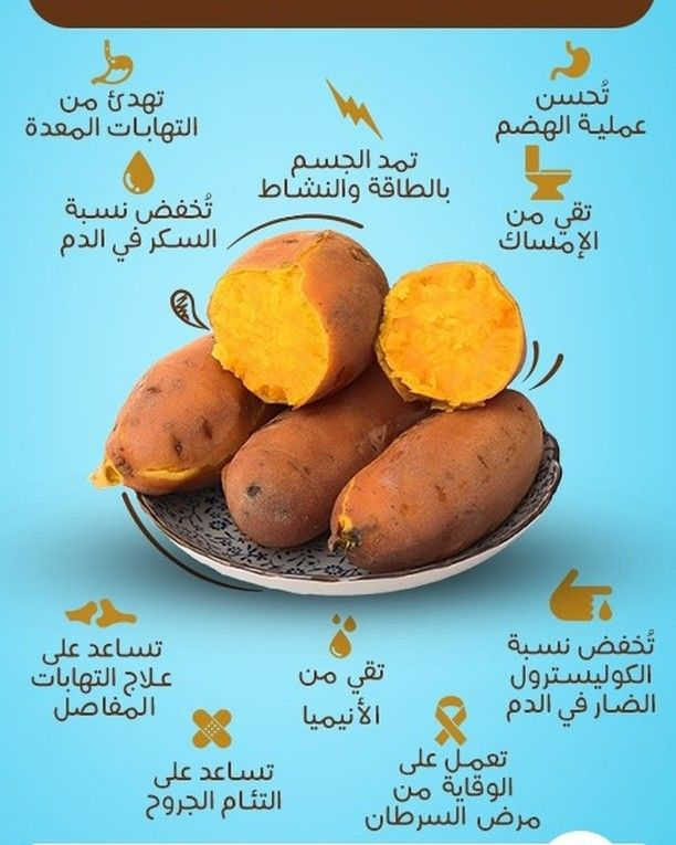 2 484 Likes 35 Comments كل يوم معلومة طبية Dmedicalinfo On Instagram هل تحب تناول البطاطا تعرف Health Facts Food Health Fitness Nutrition Health Food