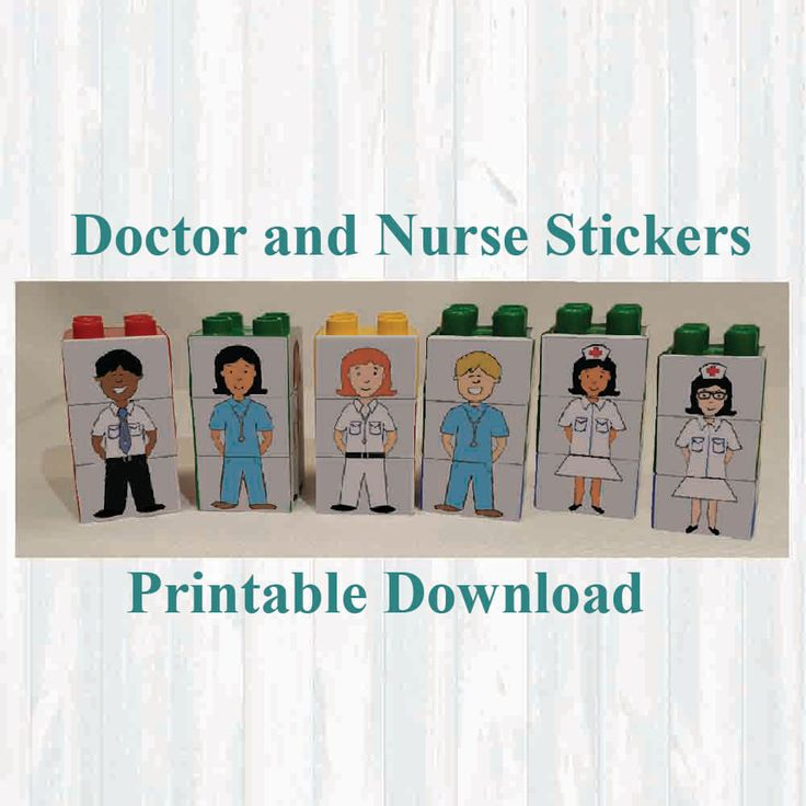 Doctor Stickers, Fridge magnets, Building blocks. Fits on Lego,Instant digital download Printable by MoonGloCreations on Etsy