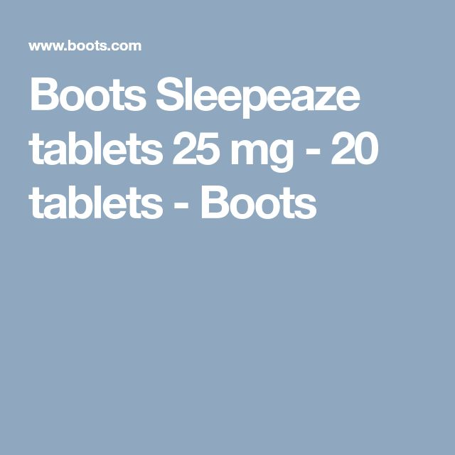 Boots Sleepeaze tablets 25 mg - 20 tablets - Boots