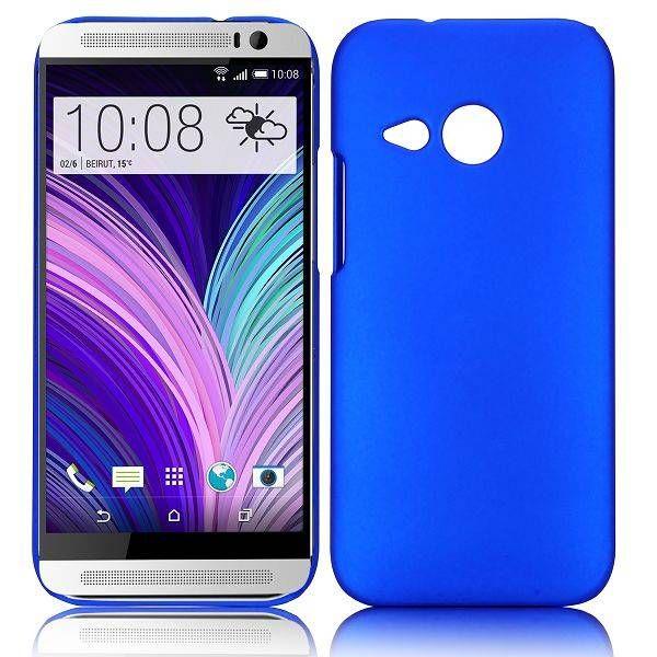 Blauw hardcase hoesje voor HTC One Mini 2