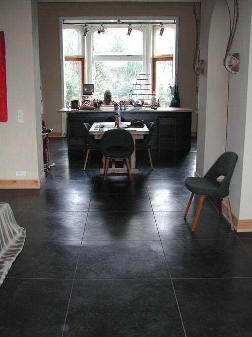 Vlinderbeton gepolierde beton, slijtvast | Garage ...