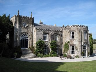 'COMING HOME' by Rosamunde Pilcher: Prideaux Place was the location for The Dower House in 'Coming Home'.     ✫ღ⊰n