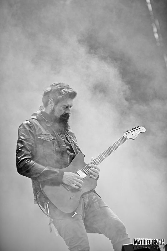 James Root, Stone Sour - Hellfest 2013 by Mathieu Ezan (Metalorgie)