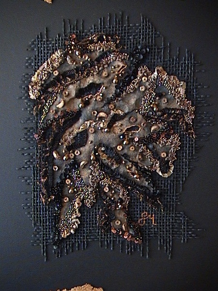 1625 best images about fiber textile embroidery fabric arts on pinterest - Tableau art contemporain ...