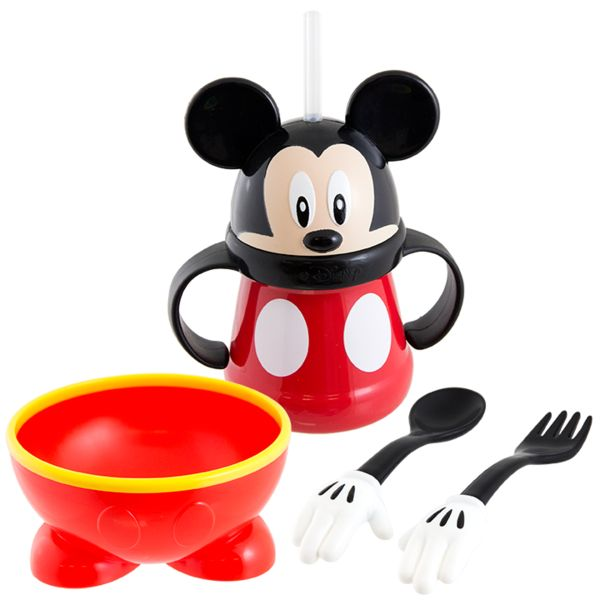 Make meal time fun with Mickey! #sassybabyproducts #disney
