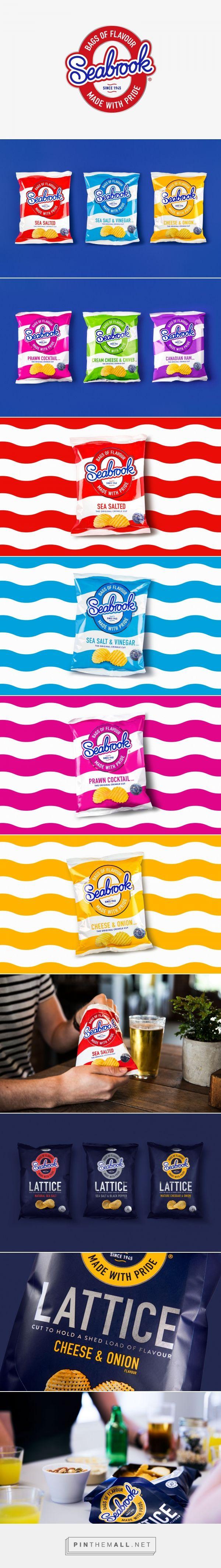 Seabrook | Branding & Packaging Design | Designed by Robot Food | www.robot-food.com