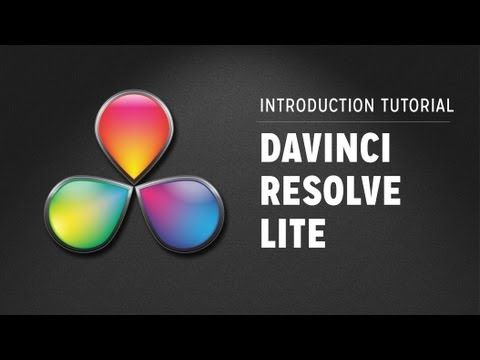 Davinci resolve 9 lite tutorials