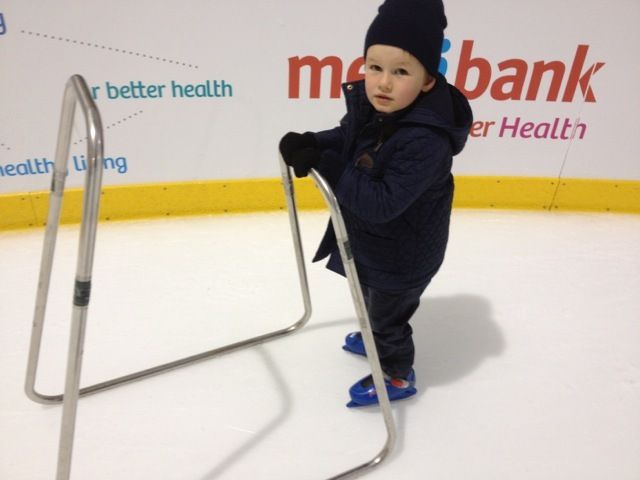 Get your skates on at the Medibank Icehouse at Docklands