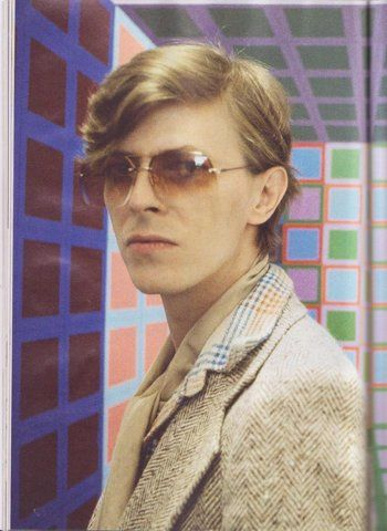 Bowie. Looking an awful lot like Mr. Scott Sternberg of Band of Outsiders.