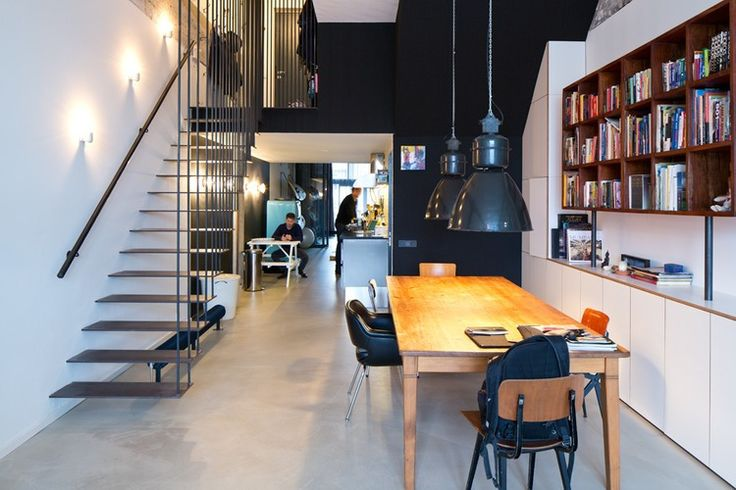 Amsterdam Loft by Studio Slot [The floor here is STUNNING!!! It seems to not be so shiny which is something I LOVE. The table is also quite nice as well!!!]