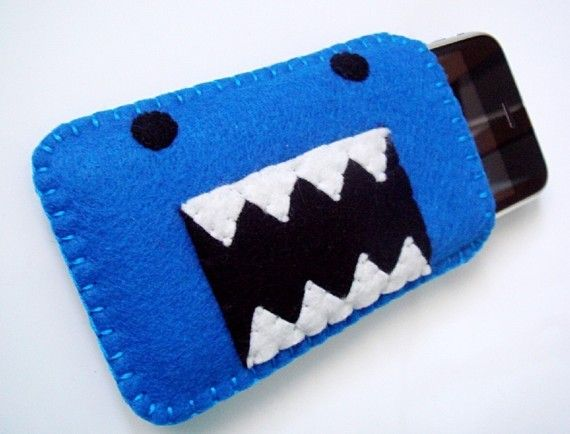 Felt mobile phone cover