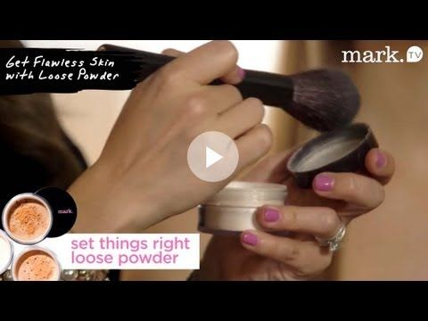 Jamie Greenberg: Get a Flawless Face with Loose Powder