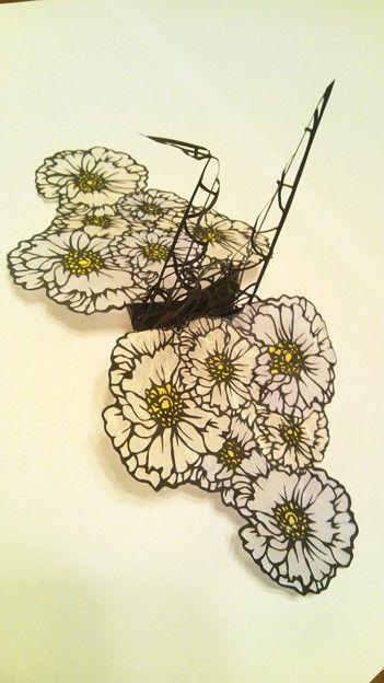 Beautiful Japanese 3D paper cut