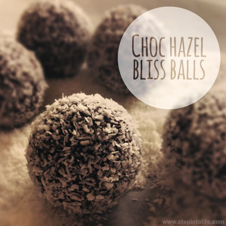 Choc Hazel Bliss Balls recipe - delicious and healthy protein balls