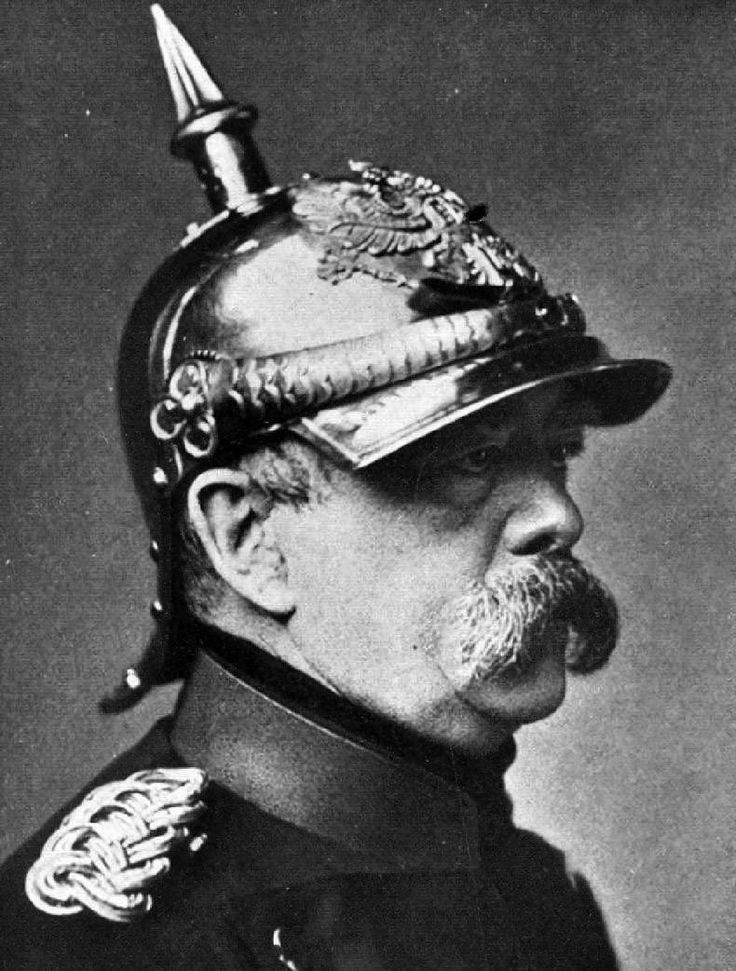 """Germany became a modern, unified nation under the leadership of the """"Iron Chancellor"""" Otto von Bismarck (1815-1898), who between 1862 and 1890 effectively ruled first Prussia and then all of Germany. A master strategist, Bismarck initiated decisive wars with Denmark, Austria and France to unite 39 independent German states under Prussian leadership. Although an arch-conservative, Bismarck introduced progressive reforms—including universal male suffrage and the establishment of the first…"""