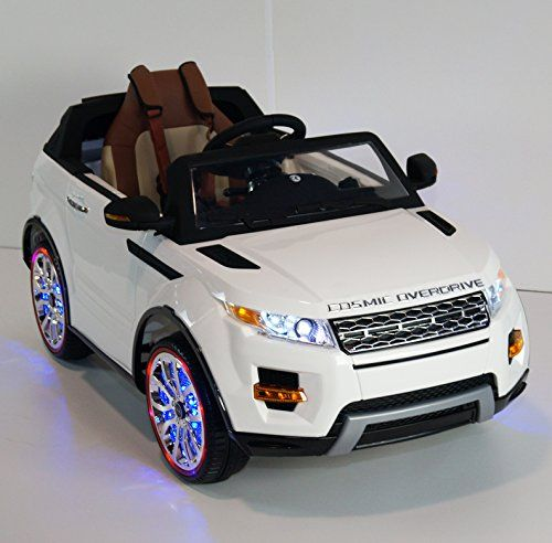 range rover sx style 12v power wheels battery powered ride on toy leather seat working doors mp3 remote control power wheels pinterest cars