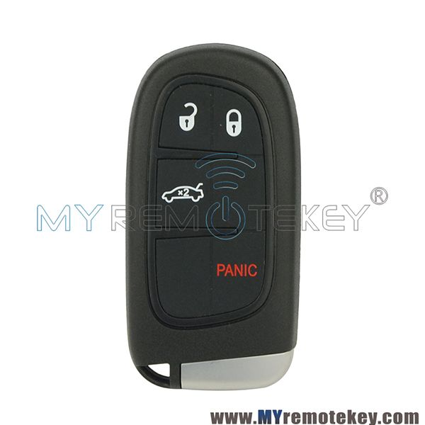 Smart Car Key 3 Button With Panic 434mhz For Chrysler Dodge Jeep Chrysler Dodge Jeep Smart Car Keyless Entry Car