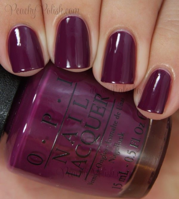 OPI: Coca-Cola Collection Swatches and Review:  Get Cherried Away
