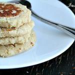Banana Almond Pancakes via Heather's French Press  #healthy #eating #healthfood #food #breakfast #glutenfree