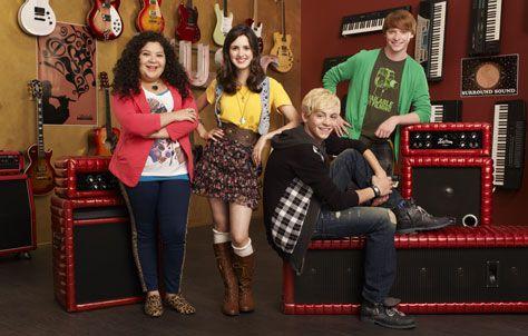 Austin & Ally: Raini Rodriguez, Laura Marano, Ross Lynch & Calum Worthy