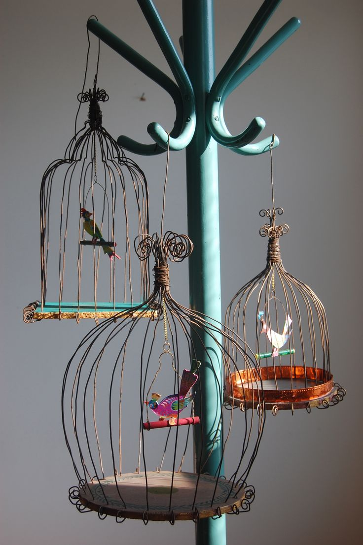 Wire bird cage John Taylor