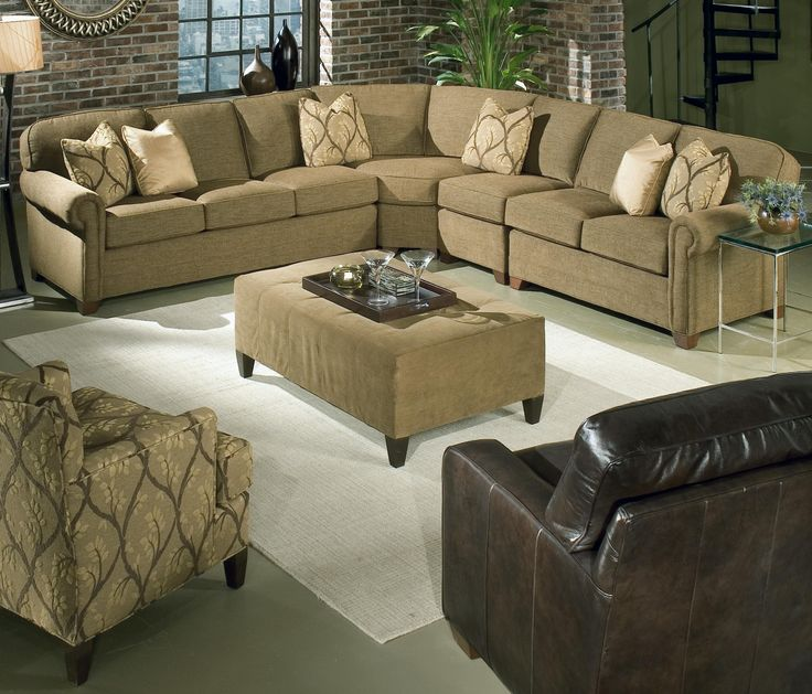 Brighton 4 Piece Customizable Sectional By King Hickory   Zaku0027s Fine  Furniture   Sofa Sectional Tri Cities   Johnson City, Kingsport And Bristol  Tennessee
