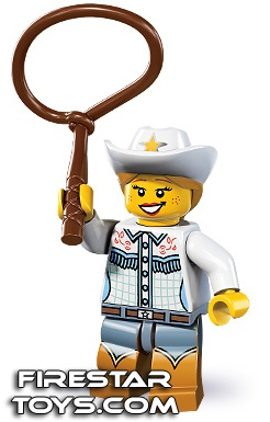 LEGO Minifigures Series 8 Cowgirl