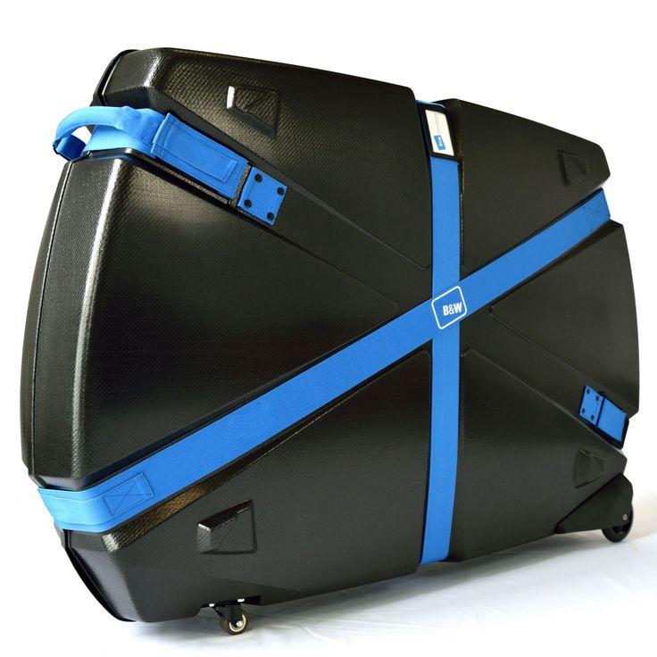 #Fahrradkoffer B&W Bike Guard Curv® bei Koffermarkt: ✓aus Curv® ✓schwarz ✓4 Rollen ✓8,2 kg ✓für Mountain Bike, das #Fahrrad oder #Rennräder ✓mit Zubehör
