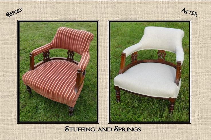 Traditionally Re Upholstered Small Antique Tub Chair. Re Upholstered  Furniture By Stuffing And Springs (www.facebook.com/stuffingandsprings) |  Pinterest ...