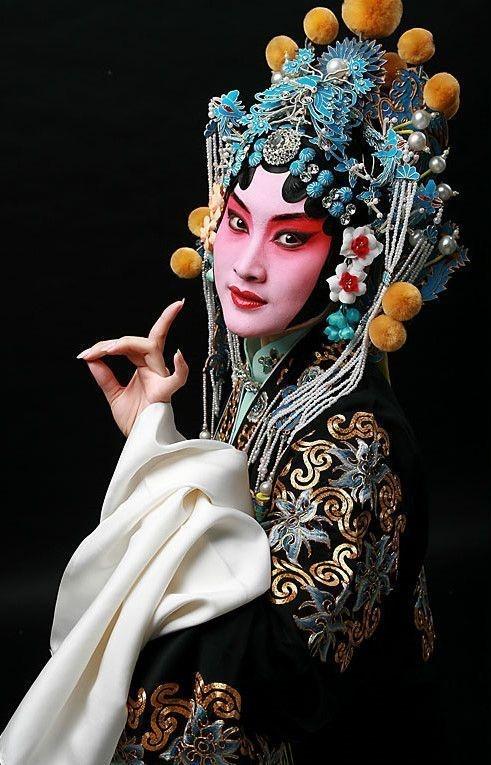 Beijing Opera head dress