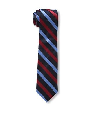 55% OFF Ben Sherman Men's Stripe Tie, Navy/Red