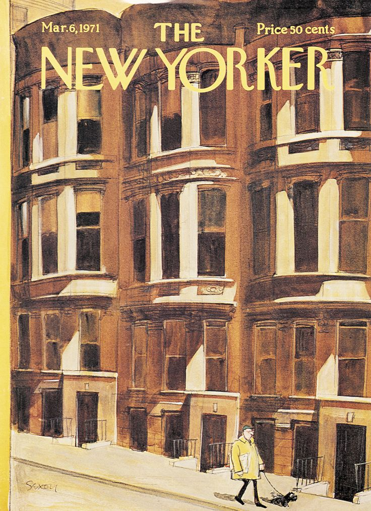 The New Yorker - Saturday, March 6, 1971 - Issue # 2403 - Vol. 47 - N° 3 - Cover by : Charles Saxon