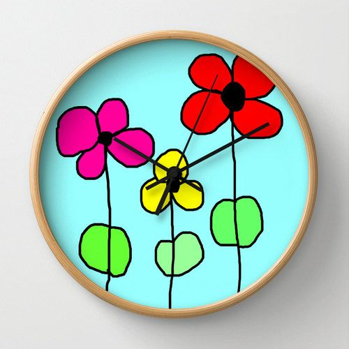 top horloge horloge murale horloge original deco originale deco enfant deco cuisine with. Black Bedroom Furniture Sets. Home Design Ideas