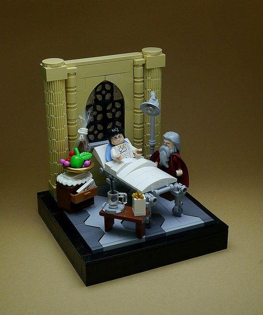 27 amazing LEGO vignettes bring Harry Potter to life                                                                                                                                                                                 Más