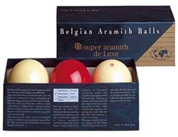 Super Aramith Carom  Deluxe Ball Set is made of Super Aramith pro highest end phenolic resin available which is Friction resistant roll and reaction. QSTIX is the billiards store in Anaheim, California which sells the billiards product and accessories.