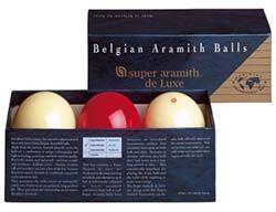 Super Aramith Carom Deluxe Ball Set | QStix Billiards Equipment