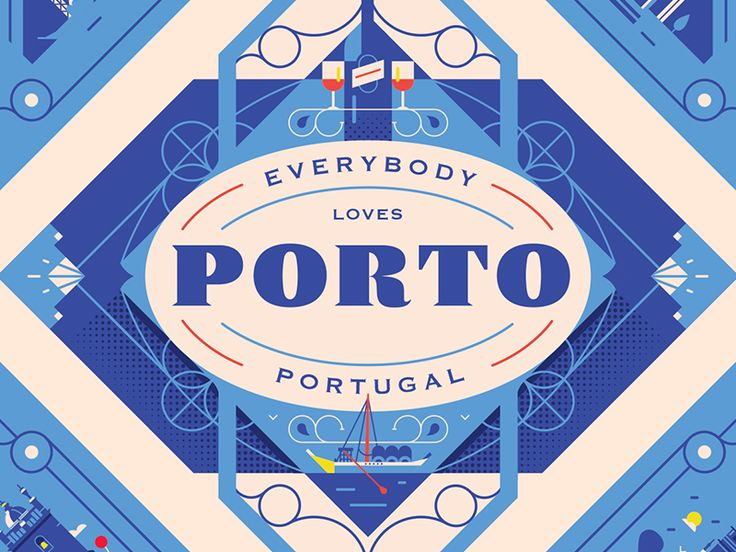 Herb Lester Associates - Porto Guide by Elen Winata - Dribbble
