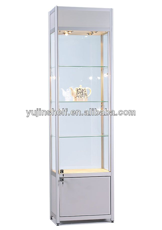 Boutique Shelves Glass With Locker
