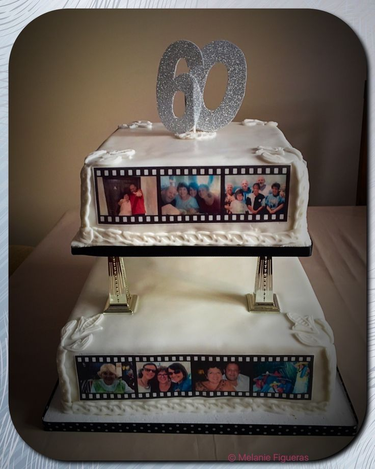 17 best ideas about 60th birthday cakes on pinterest for 60th birthday cake decoration