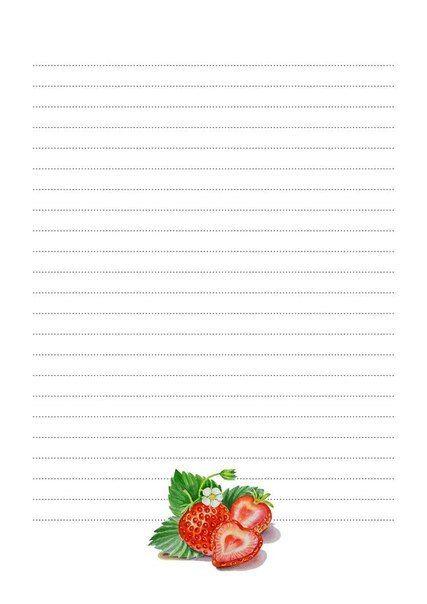Strawberry paper