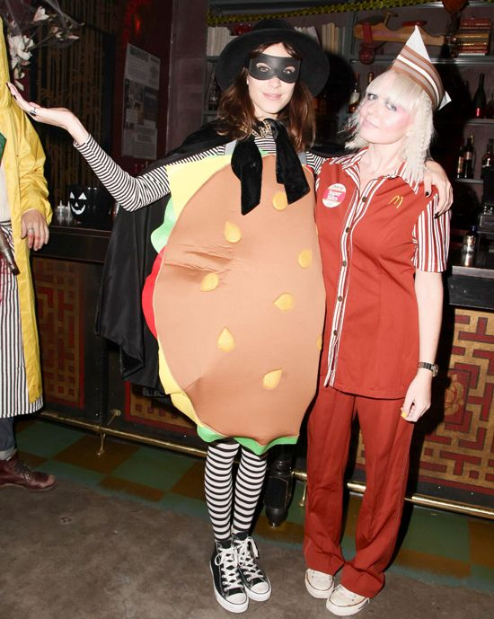 Bring the LOLs like Alexa in a novelty costume. Think oversized fast-food or your favourite animal onesie. #Halloween