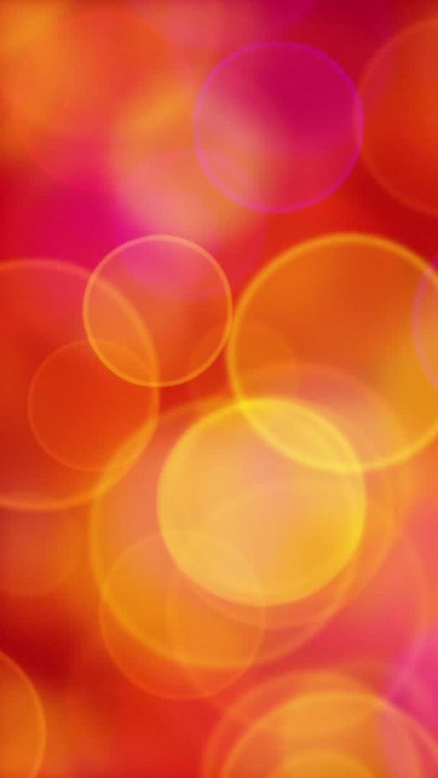 Orange Pink Yellow Circles Iphone Wallpaper Patterns Backgrounds Pinterest And
