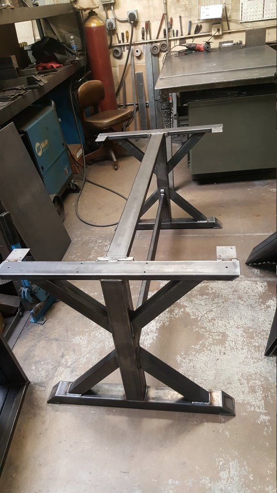 Trestle Table Legs With 2 Braces Model Tr11dcb2 Heavy Duty