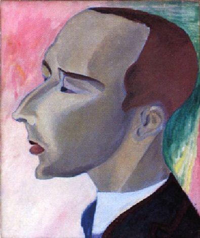 Sigrid Hjertén - Portrait of Nils von Dardel