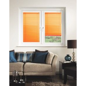 Tangerine Perfect Fit Venetian Blinds