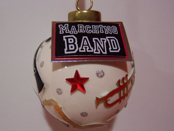 87 best marching band gift ideas images on pinterest back to items similar to marching band personalized handmade porcelain tree ornament keepsake on etsy negle Image collections
