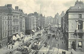 Westmoreland Street, Dublin, late 19th C. Or early 1900s