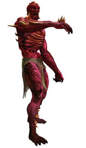 Mutant. Jeden z nieudanych eksperymentów Salamandry. Jest szybki i zwinny, ale jego inteligencja dorównuje zwierzęciu. Pomimo tej wady Salamandra postanowiła wykorzystać go w walce.