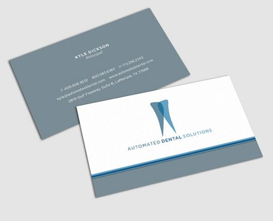 16 best business cards images on pinterest dental business cards dental business card kyle dickinson colourmoves Gallery