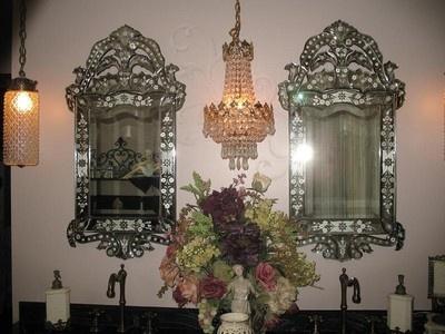 92 Best Venetian Mirrors Images On Pinterest